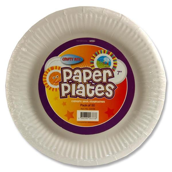 Craft Paper Plates