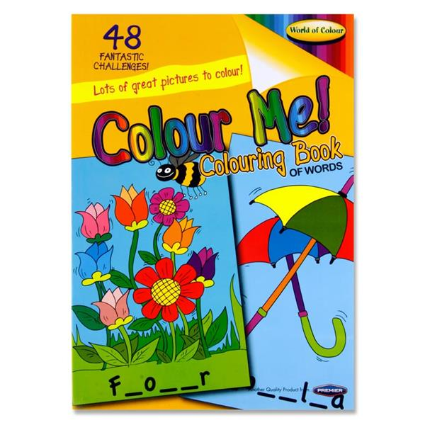 WorColouring Book