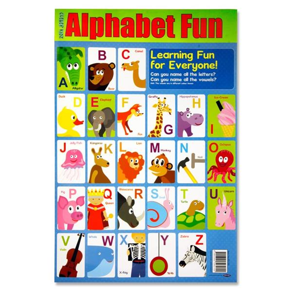 Alphabet Fun Wall Chart