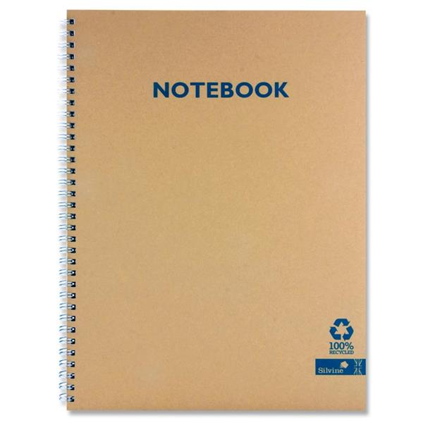 Silvine A5 Spiral Bound Notebook
