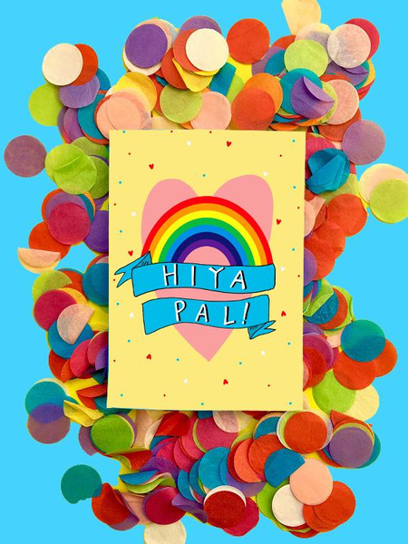 Hiya Pal Greeting Card