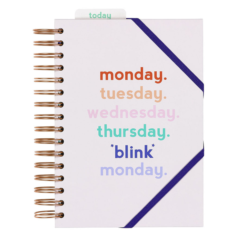 Undated Blink Monday Planner