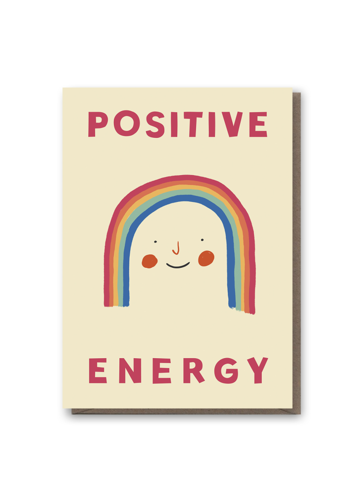 Positive Energy Greeting Card