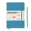 Leuchtturm1917 Weekly Planner & Notebook 2021 With Booklet For Addresses & Birthdays A5 Medium Hardcover