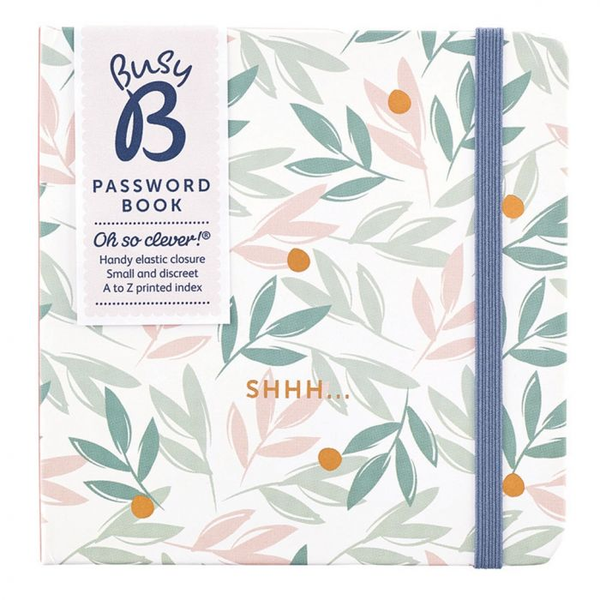 Breezy Blossoms Password Book