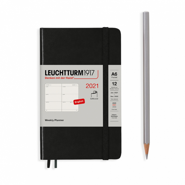 Leuchtturm1917 Weekly Planner Pocket A6 2021 Softcover