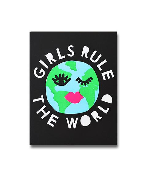 1973 Girls Rule The World A6 Notebook