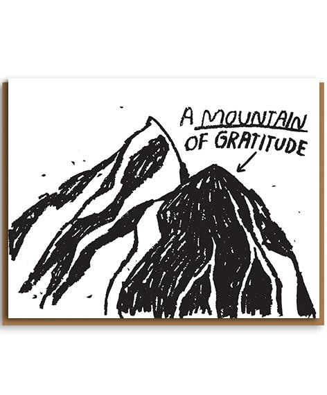197PIL Mountain Of Gratitude Greeting Card
