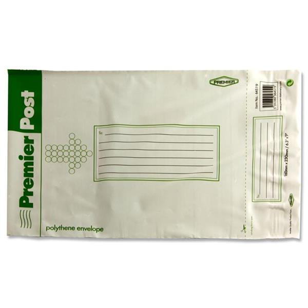 Poly Mailer Bag 160mm x 230mm