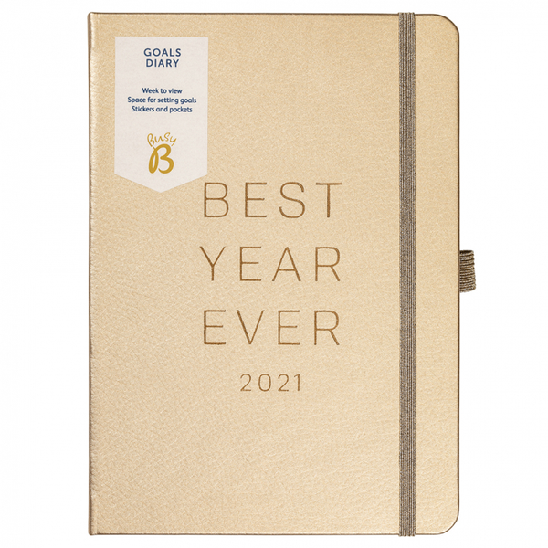 2021 Rose Gold Goals Diary