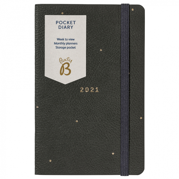 2021 Grey Pocket Diary
