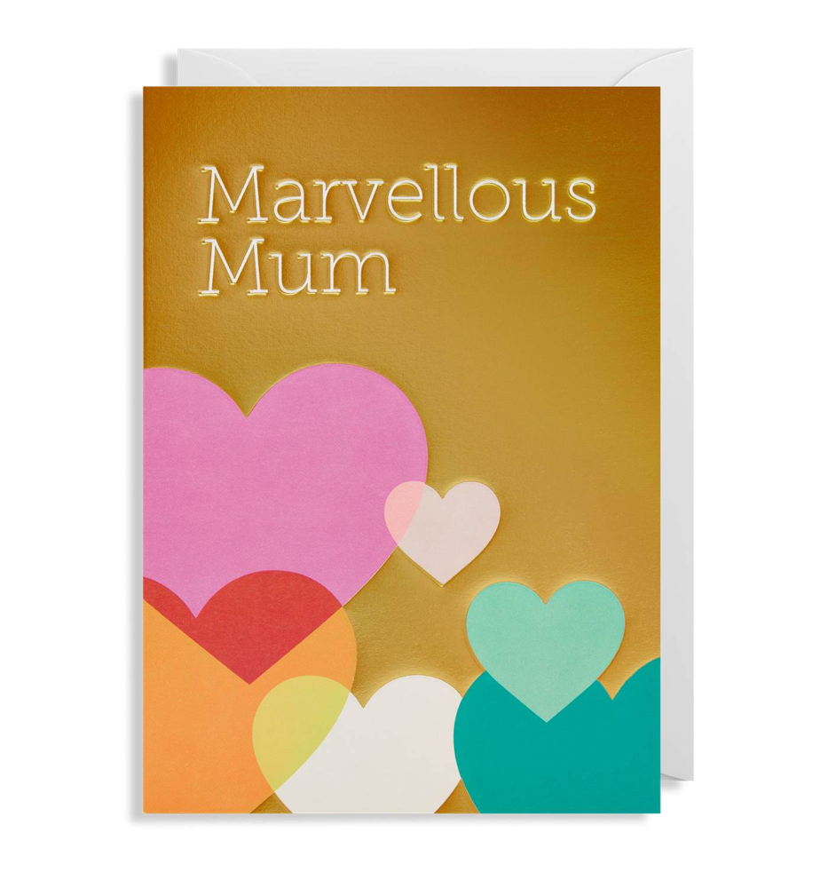 LAGOM MARVELLOUS MUM Greeting Card