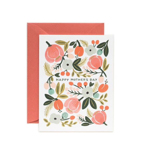 Blooming Mother's Day D Rifle Paper Co Letterpress Card