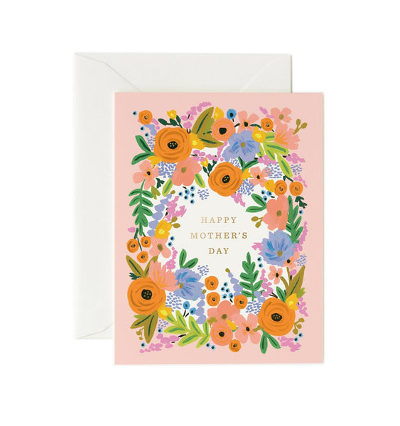 Floral Mother's Day Rifle Paper Co Letterpress Card