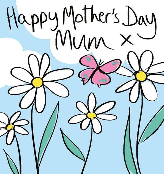 Daisies Lucilla Lavender Mother's Day Card At Penny Black