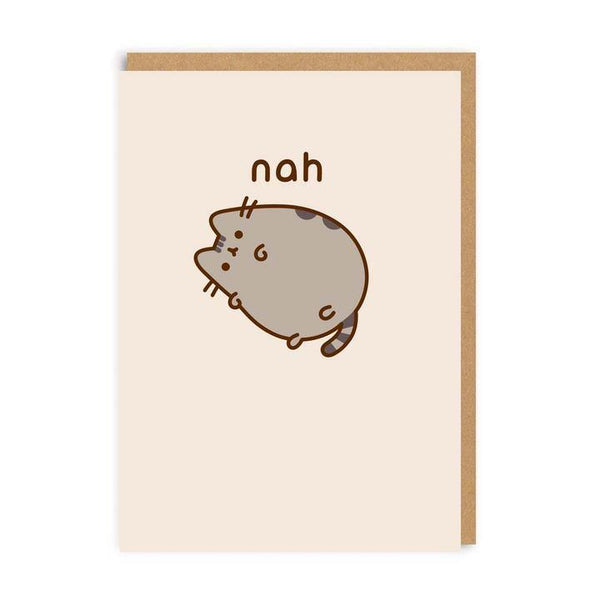 Nah Pusheen The Cat Card | Penny Black