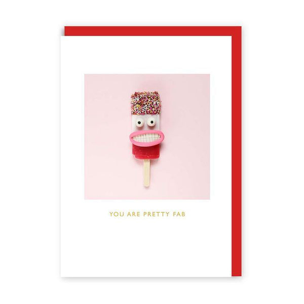 You Are Pretty Fab Valentines Card