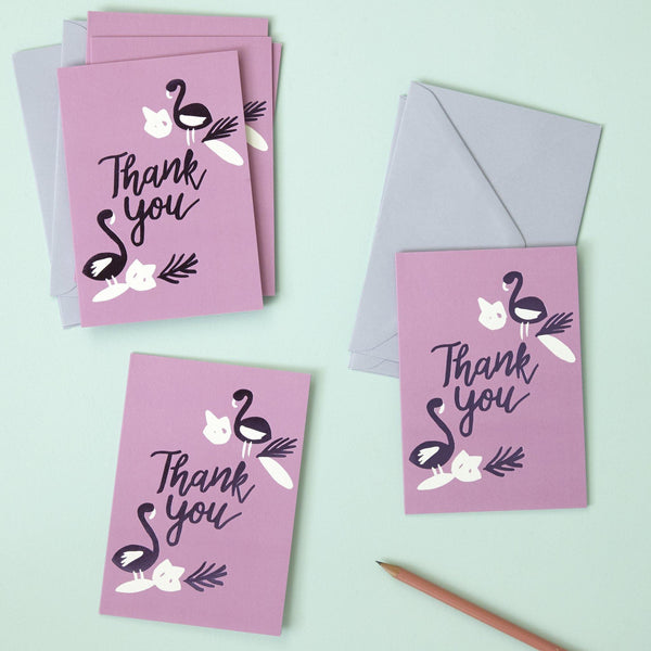Floralicious Thank You Cards 6 Pk | Penny Black