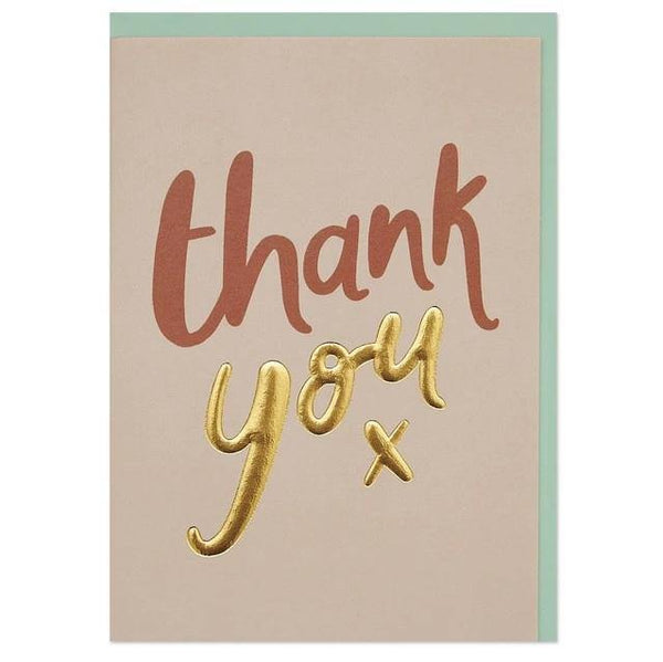 Typographic Thank You Cards 6 Pk | Penny Black