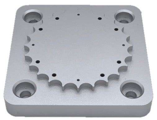 Traditional baseplate