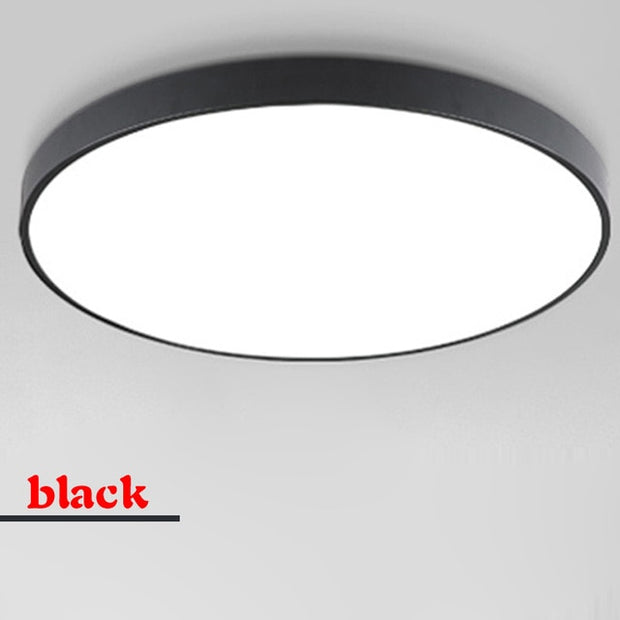 ltra-thin LED ceiling lamp living room lighting remote control simple modern bedroom lamp restaurant home balcony lighting