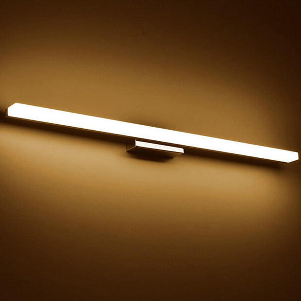 Longer LED Mirror Light  AC90-260V Modern Cosmetic Acrylic Wall lamp Bathroom Lighting Waterproof