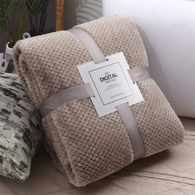 Home Textile polar microfiber blanket cover