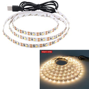 SMD2835 RGB LED Flexible Strip Lights Dimmable USB Waterproof LED Light Strip IP20 IP65 5V LED Ribbon White/Warm White LED Tape