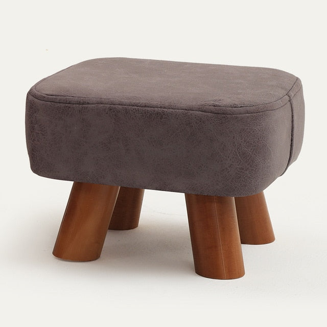 Small family stool wooden