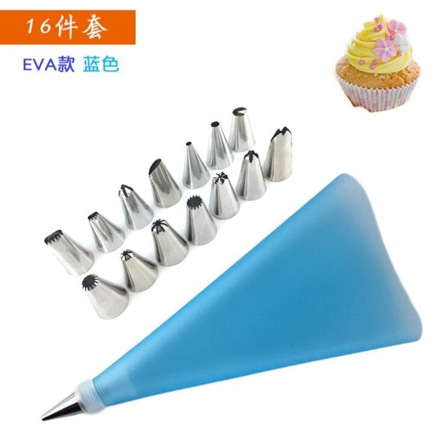 Kitchen Accessories Tools Icing Piping Nozzles Cookie Biscuit Cream Pastry Tips Cake Mold Cake Decorating Tools Kitchen Gadgets