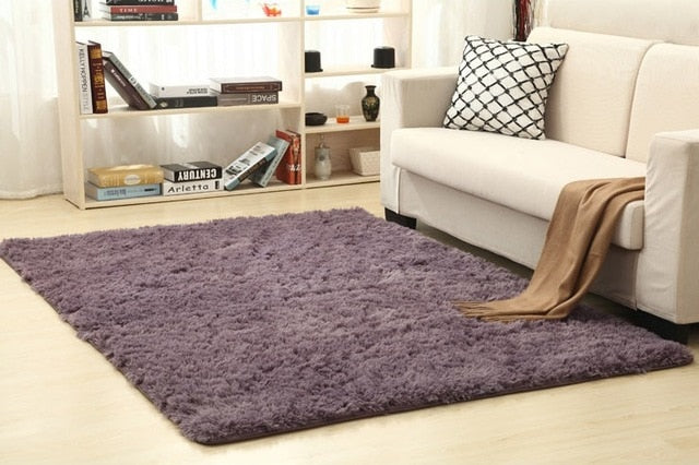Ruldgee shaggy carpet for living room