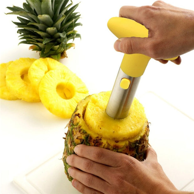 1pc  Fruit Vegetable Knife Stainless Steel Gadget Kitchen Accessories Pineapple Peeler Spiralizer Cutter Core Peel Slicer Cocina