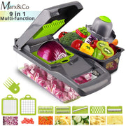 Vegetable Cutter Grater Slicer Carrot Potato Peeler Cheese Onion Steel Blade Mandoline  Kitchen Accessories Fruit Tools