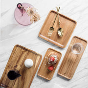 Handmade Wood lovesickness Wood Rectangular Oval Solid Wood Pan Fruit Dishes