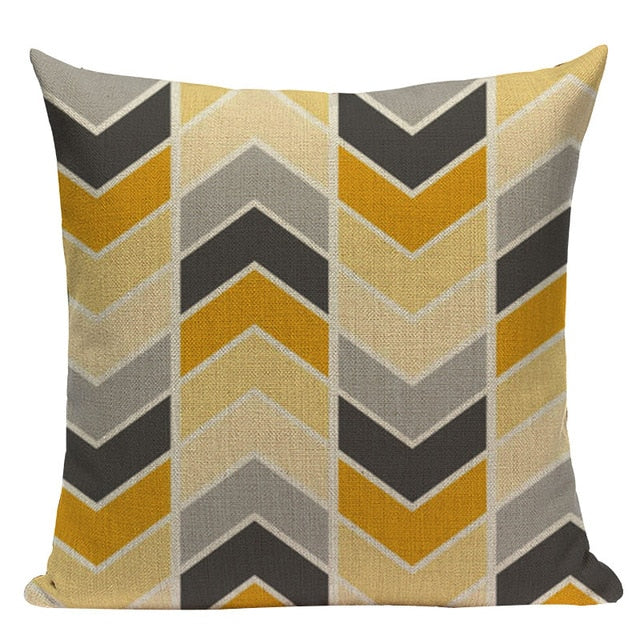 Custom Throw Pillow Covers Geometric Cushion