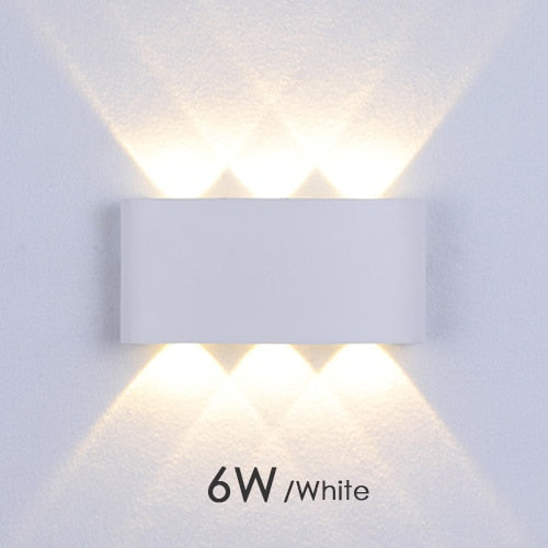 Modern Led Wall Lamp  Indoor Stair Light Fixture Bedside Loft Living Room Up Down  Home Hallway Lampada 2W 4W 6W Wall Sconces