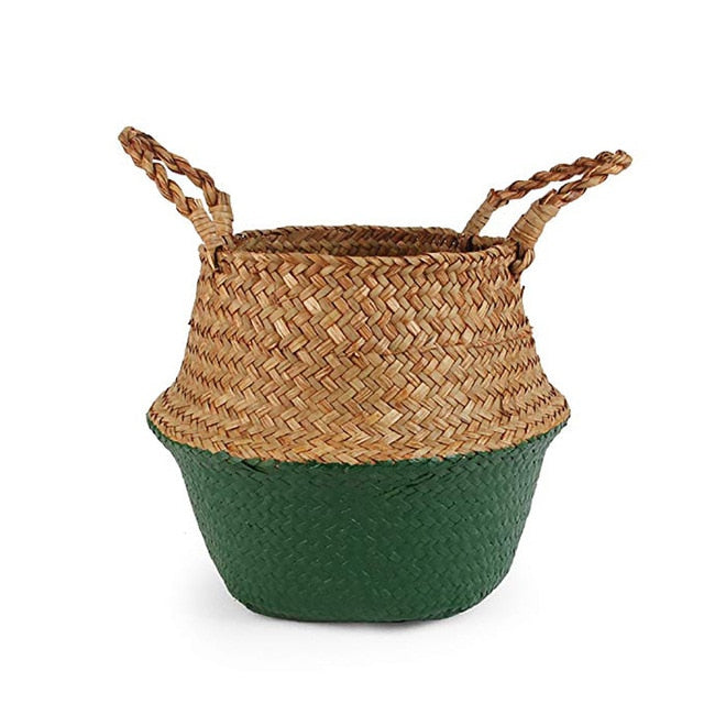 Storage baskets laundry seagrass baskets