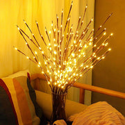 Led willow branch lamp rose simulation orchid branch lights tall vase filler willow twig lighted branch for home decoration vases