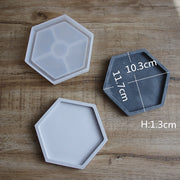 Silicone Molds for Concrete Cement Pots DIY Round Planter Pots Mold Garden Vase Molds