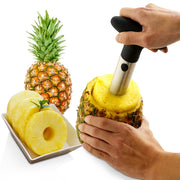 1Pcs Stainless Steel Easy to use Pineapple Peeler Accessories Pineapple Slicers Fruit Knife Cutter Corer Slicer Kitchen Tools