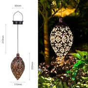 Waterproof solar garden light  LED Lantern Hanging Outdoor solar Lamp Olive Shape Sensitive Sensor Control Solar Powered lamp