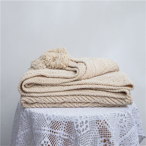 REGINA Nordic Style Chenille Blanket Throw Super Soft Warm Autumn Home Decoration Chair Bed Sofa Cover Blanket Luxury Cozy Throw