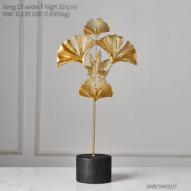 Creative Gold home decoration accessories