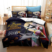 Hot Sale 3d The Nightmare Before Christmas Printed Duvet Cover Set Au Us Eu Twin Full Queen King Bedding Set Comforter Cover Set