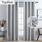 Topfinel Modern Blackout Curtains  Curtains For Window Treatment Blinds Finished Drapes Custom Made 2020