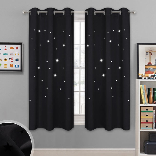 1 Panel Summer Hot Sale Fashion Star Blackout