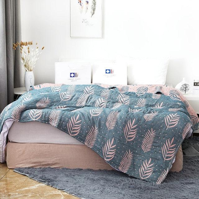 Home Winter Fleece Warm Quilt Bedspread Throw Blanket Comforter Bed Cover Textiles Household Plaids Coverlet
