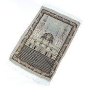 110x65cm Blanket Lightweight Bedroom Home Portable Prayer Rug Islamic Muslim Decoration Carpet Embroidery Tassel Tapestry Gift