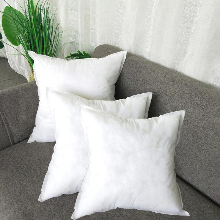 1/2/3PCS White Non-woven Pillow Cushion Core Pillow Interior Home Decor White Soft Pillow Inner Health Care Cushion Filling