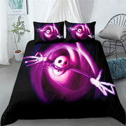 halloween nightmare children bedding set king queen double full twin single size bed linen set